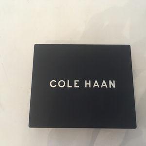 Cole Haan Brown Wallet.